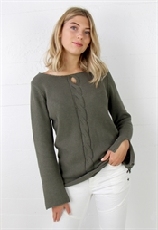 Bild på Eve Sweater Khaki Green