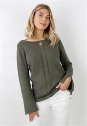 Bild på Eve Sweater Khaki Green
