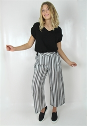 Bild på Gianna Pants Black/Creme