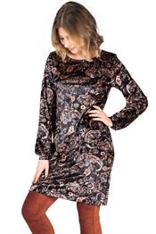 Bild på Gillian Dress Black/Tangerine